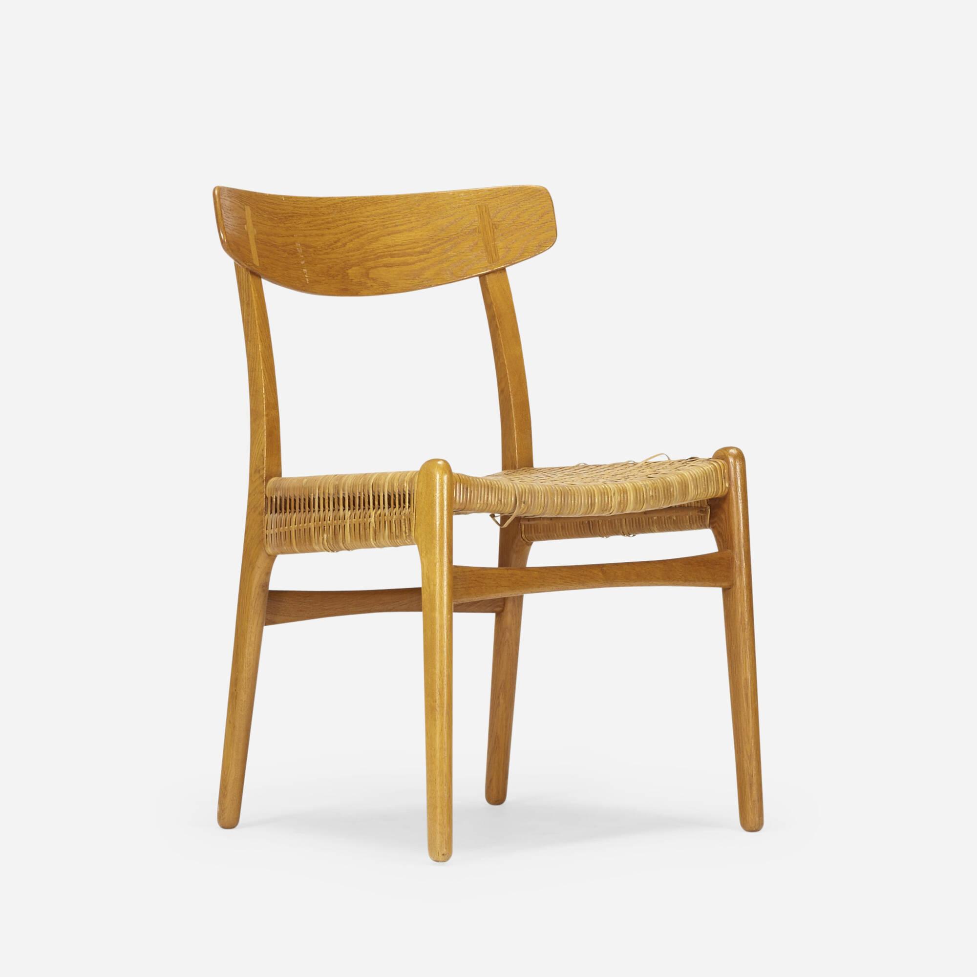 790: Hans J. Wegner / dining chair, model CH23 (1 of 4)