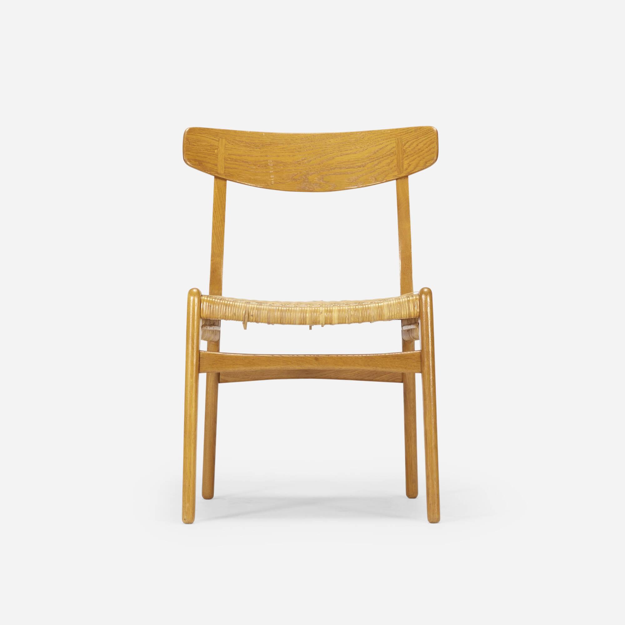 790: Hans J. Wegner / dining chair, model CH23 (2 of 4)