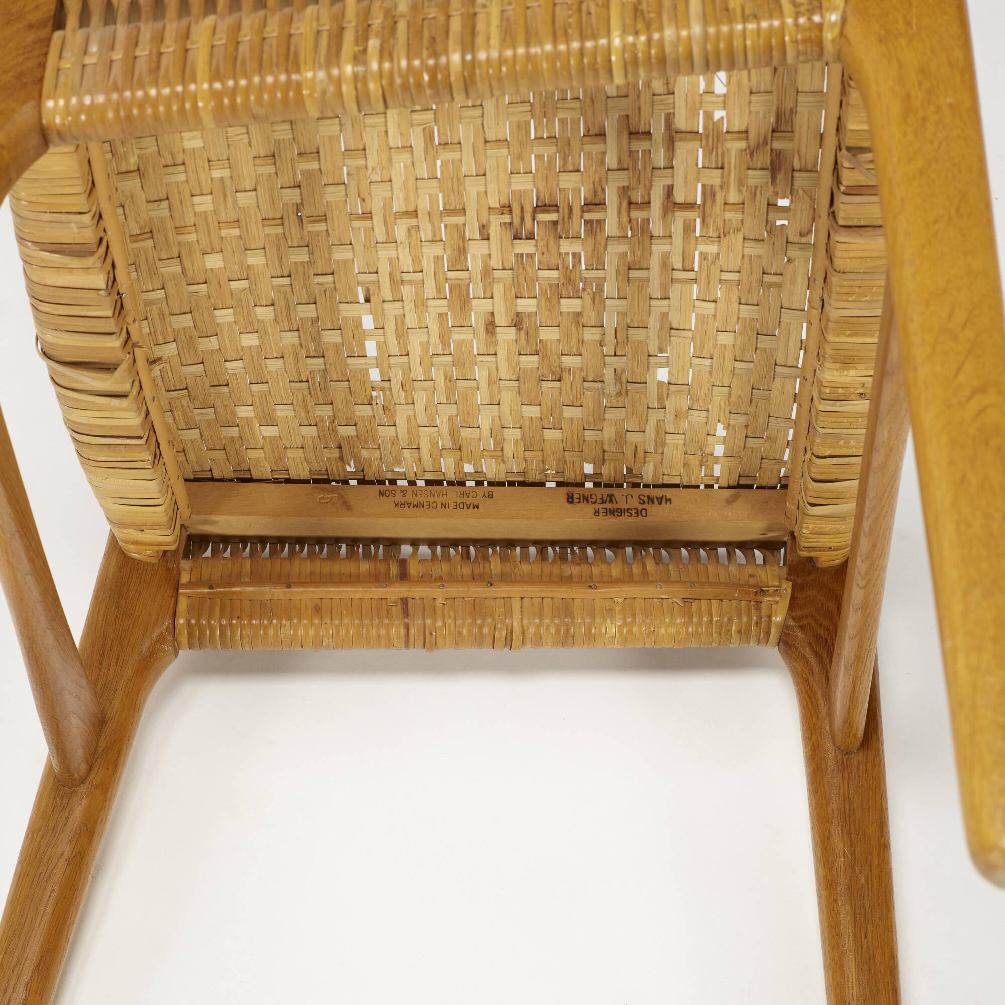 790: Hans J. Wegner / dining chair, model CH23 (4 of 4)