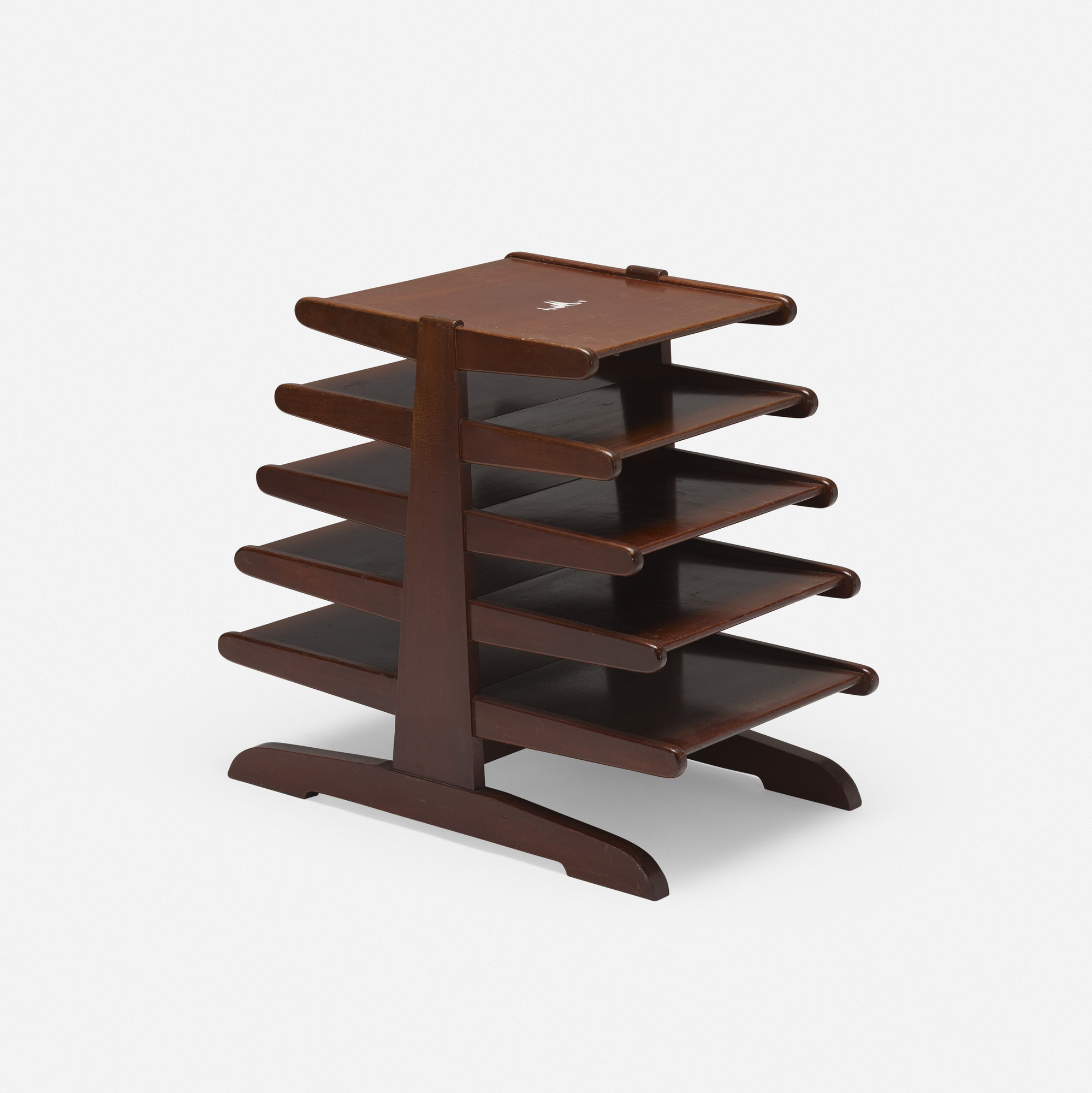 804: After Edward Wormley / magazine rack (1 of 3)