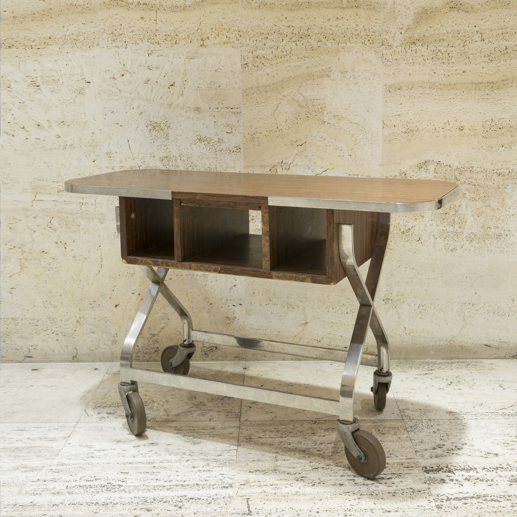 804: Garth and Ada Louise Huxtable / Serving cart from The Four Seasons (1 of 1)