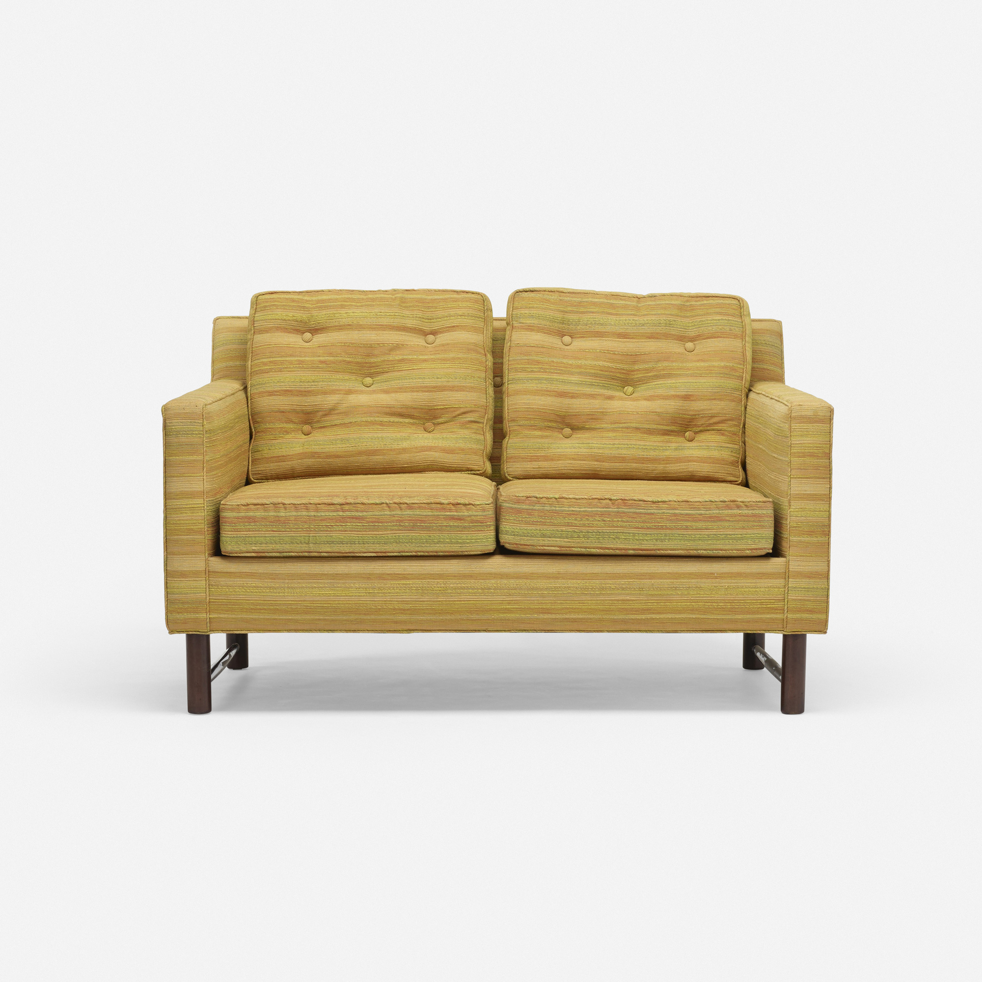 809: Edward Wormley / settee, model 253 (2 of 3)