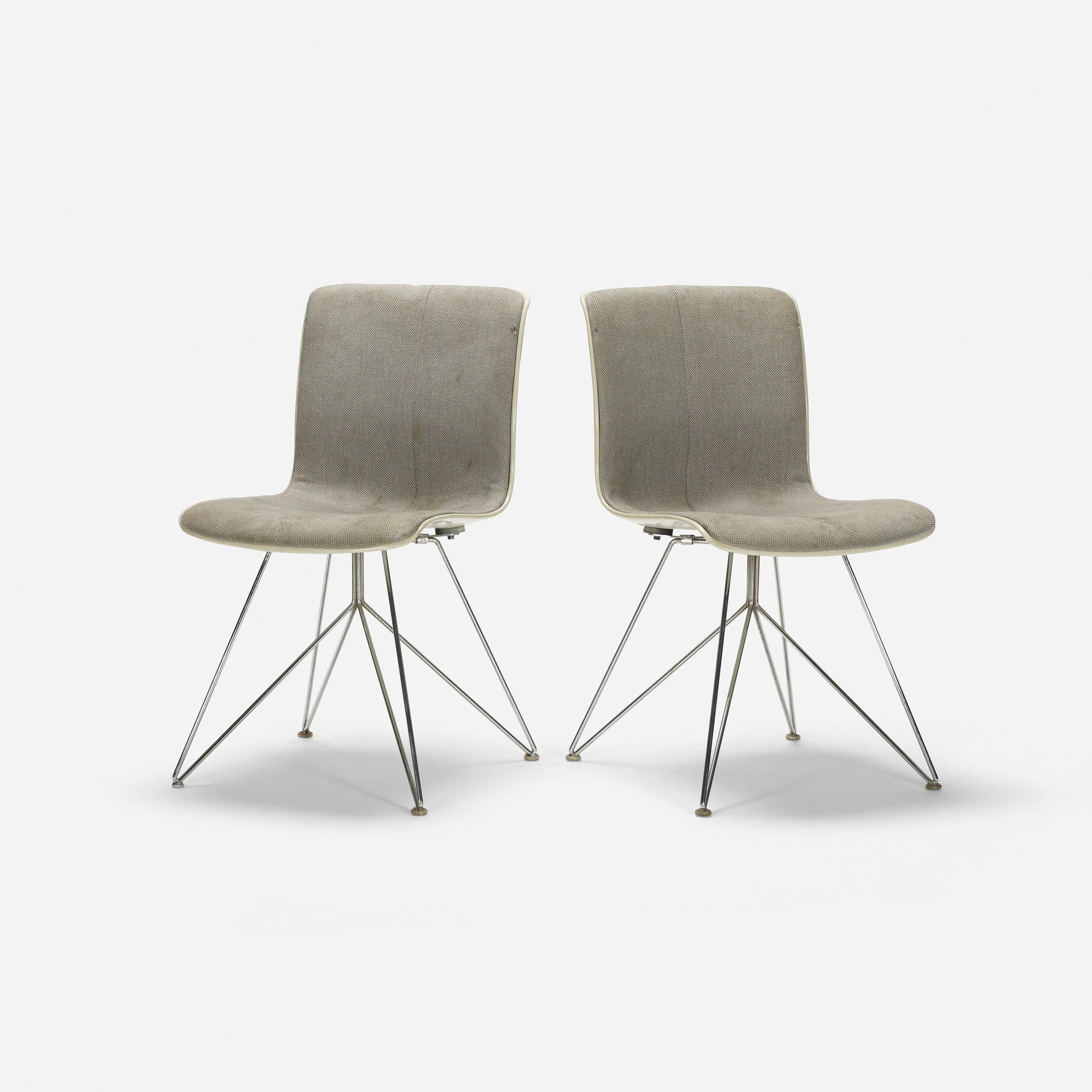 810: Sori Yanagi / chairs, pair (1 of 3)