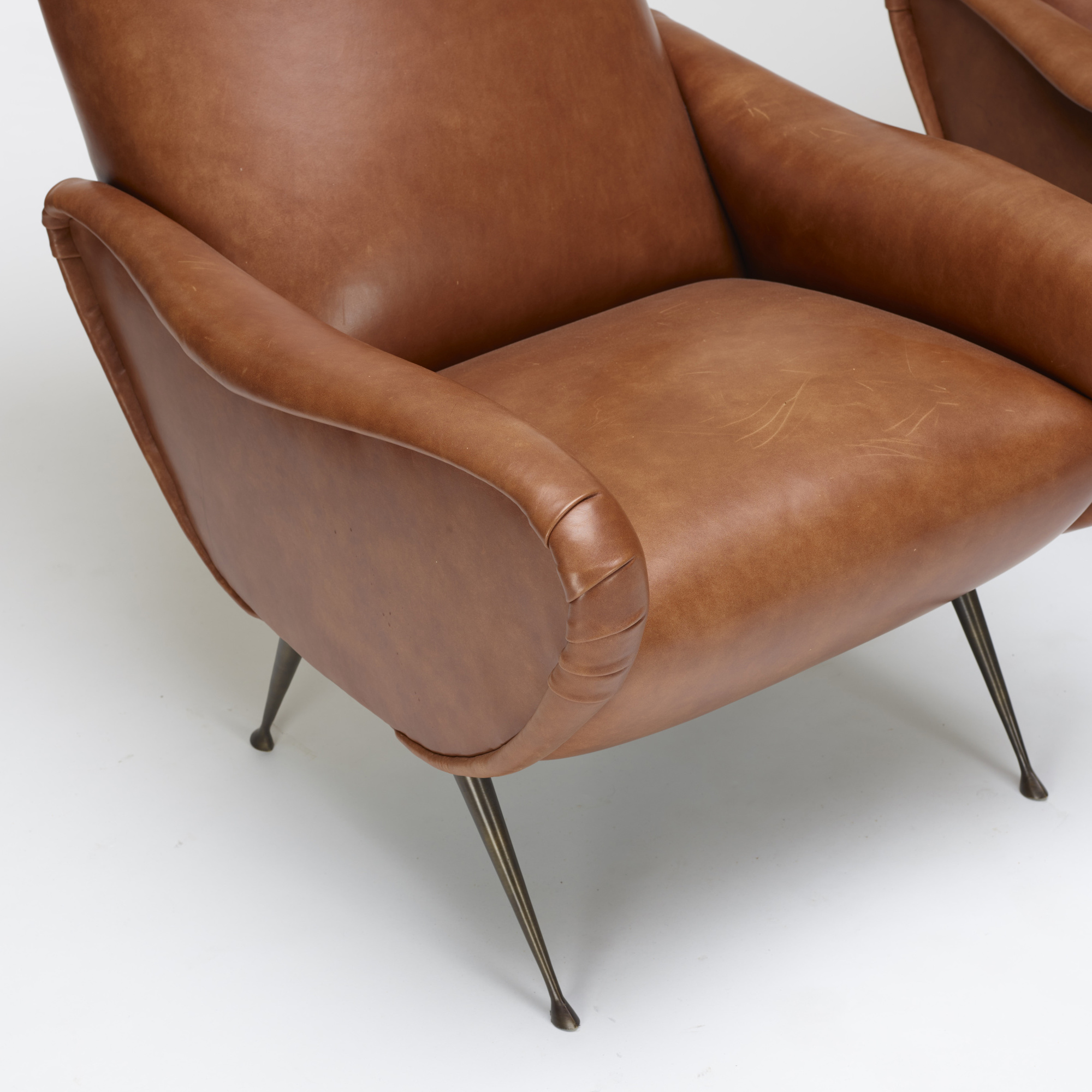 814: In the manner of Marco Zanuso / lounge chairs, pair (3 of 3)