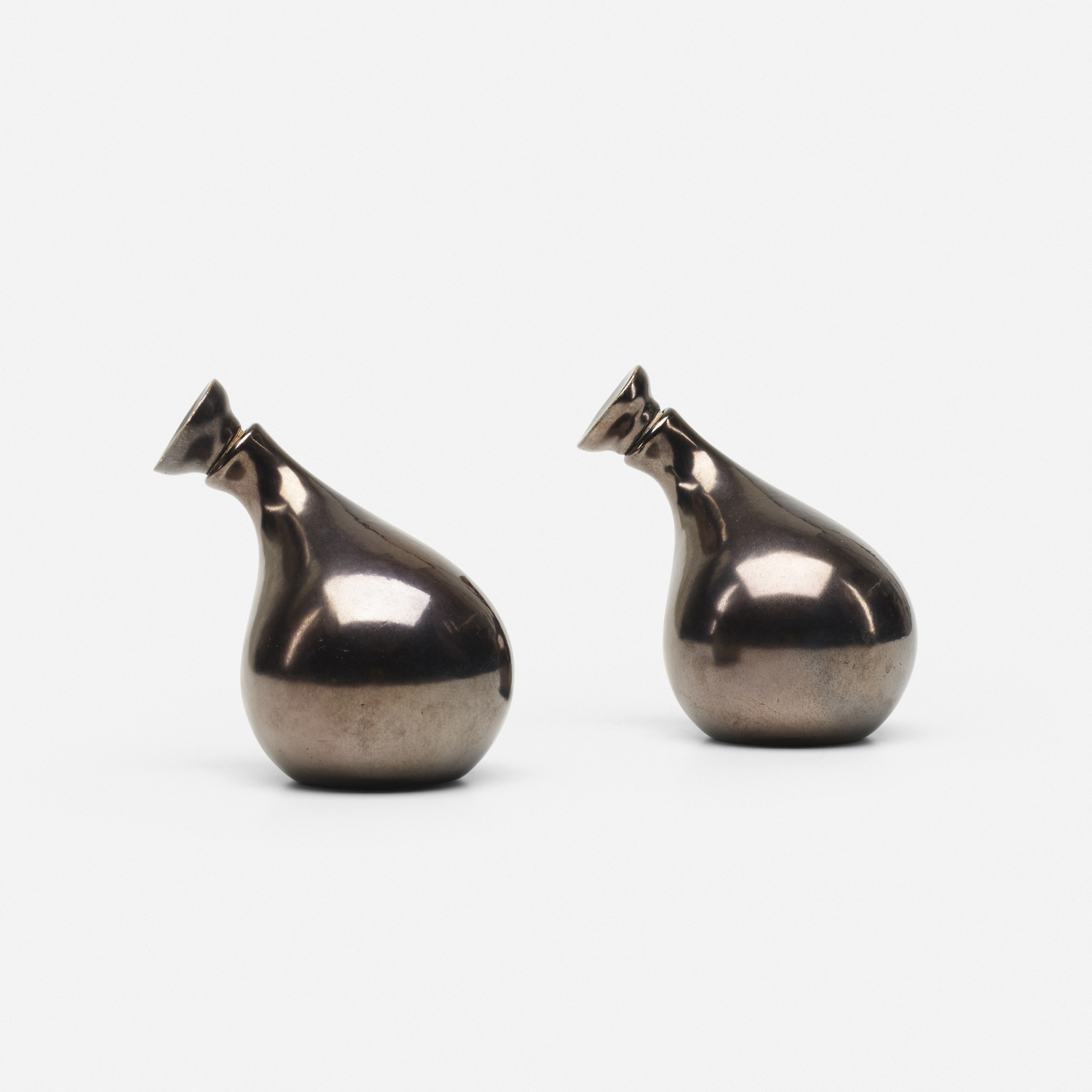 816: Eva Zeisel / Town and Country cruets, pair (1 of 1)