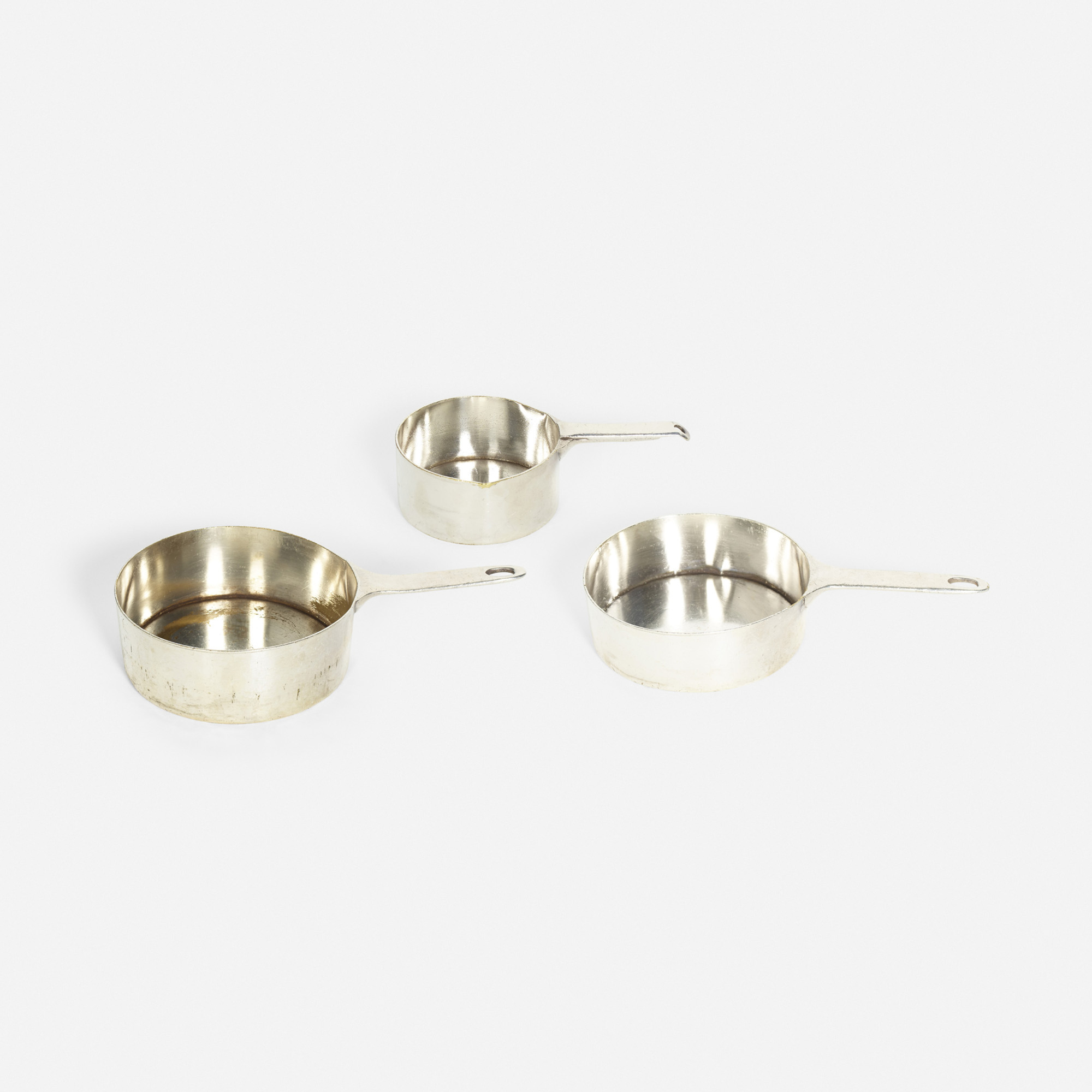 858: Garth and Ada Louise Huxtable / sauce pots from the kitchen of The Four Seasons, set of three (1 of 1)