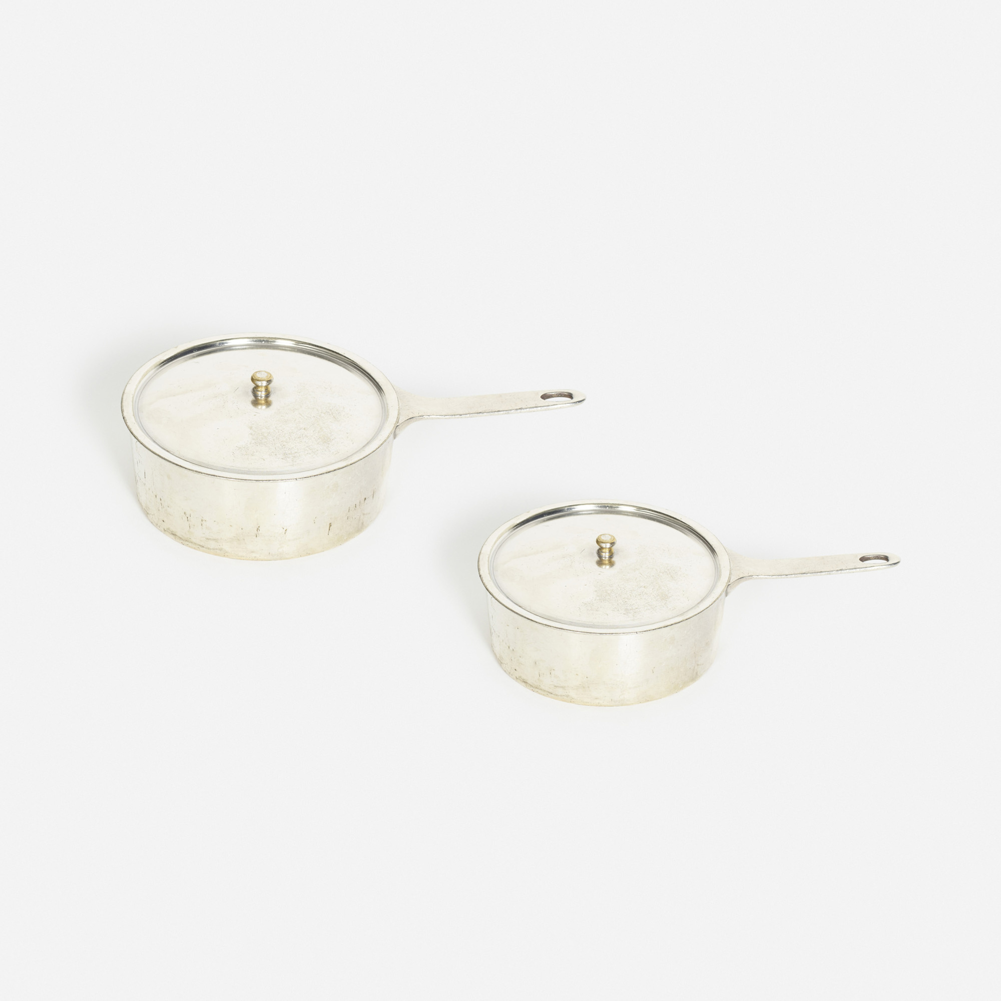 861: Garth and Ada Louise Huxtable / sauce pots from the kitchen of The Four Seasons, set of two (1 of 1)