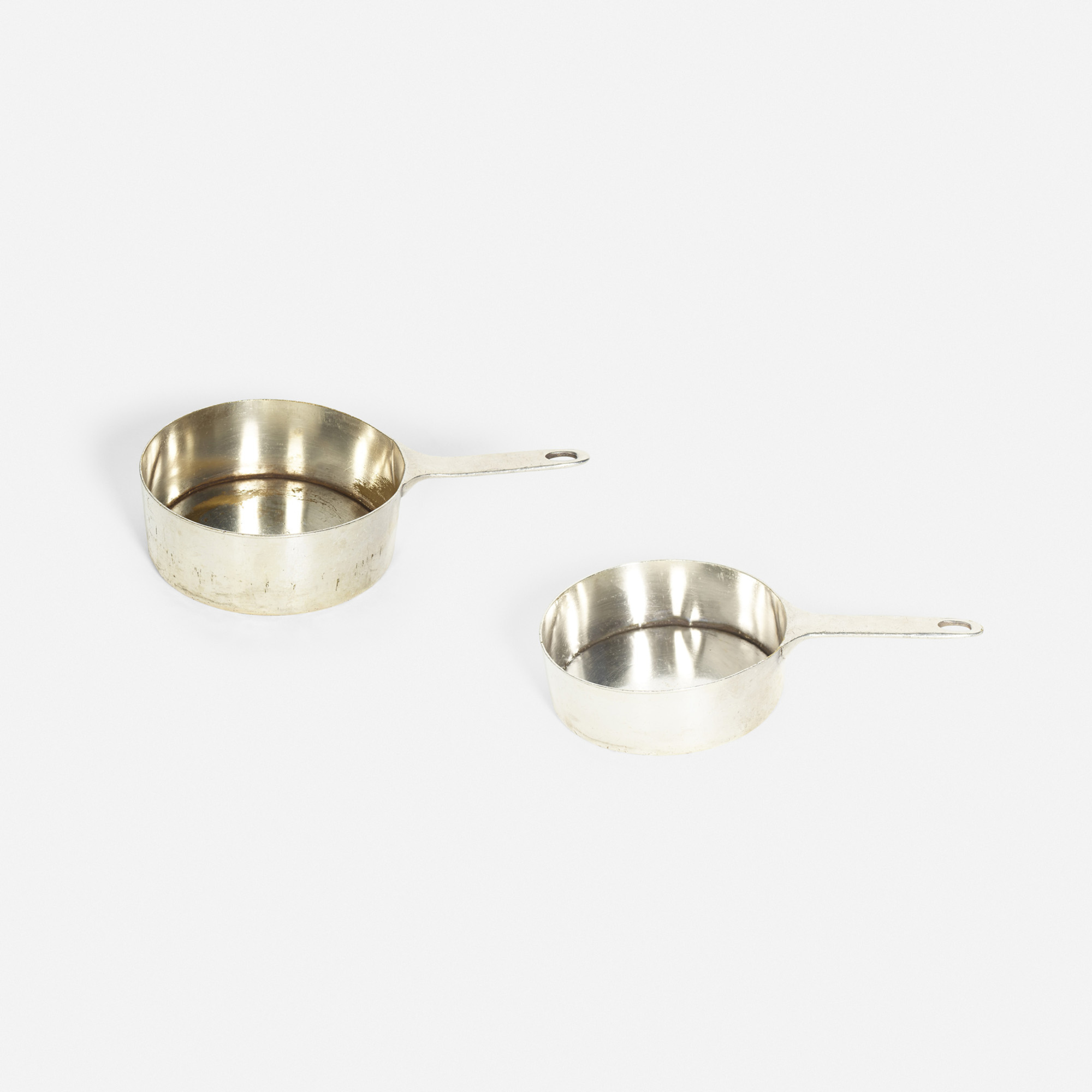 872: Garth and Ada Louise Huxtable / sauce pots from the kitchen of The Four Seasons, set of two (1 of 1)