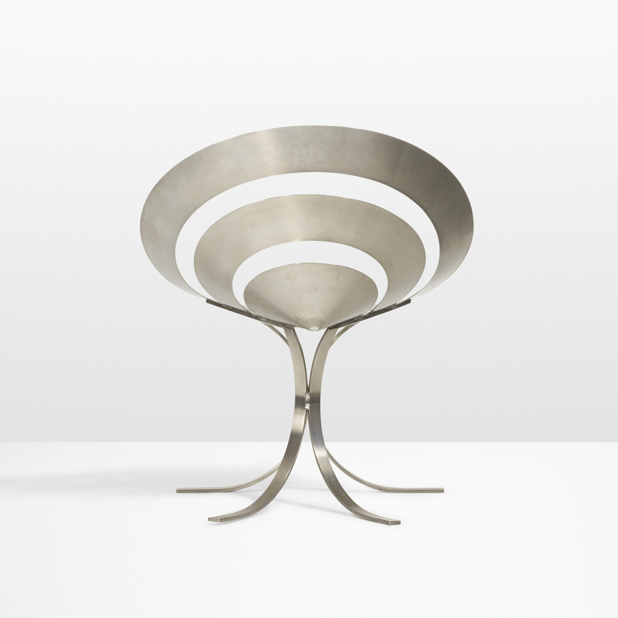 8: Maria Pergay / Important pair of Ring chairs (3 of 4)