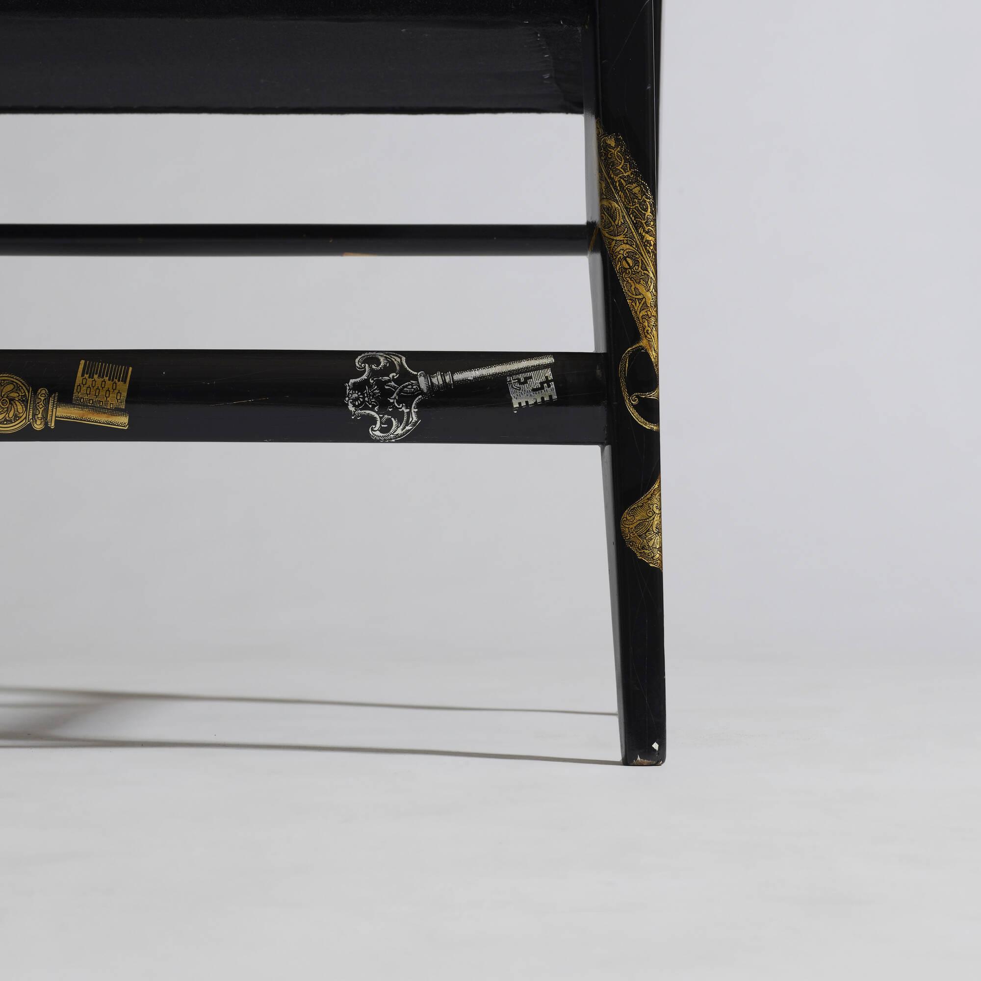 8: Gio Ponti and Piero Fornasetti / Rare armchair (4 of 4)