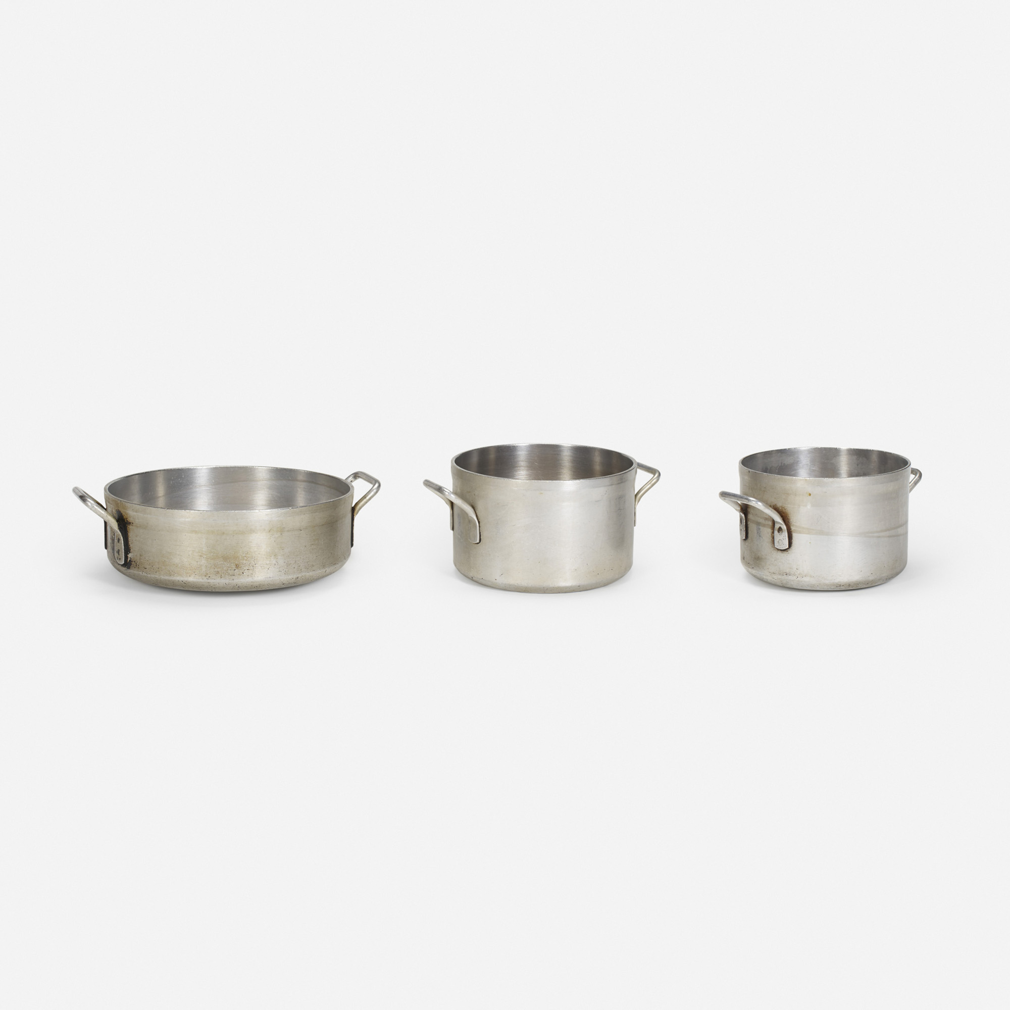 904:  / large pots from the kitchen of The Four Seasons, set of three (1 of 1)