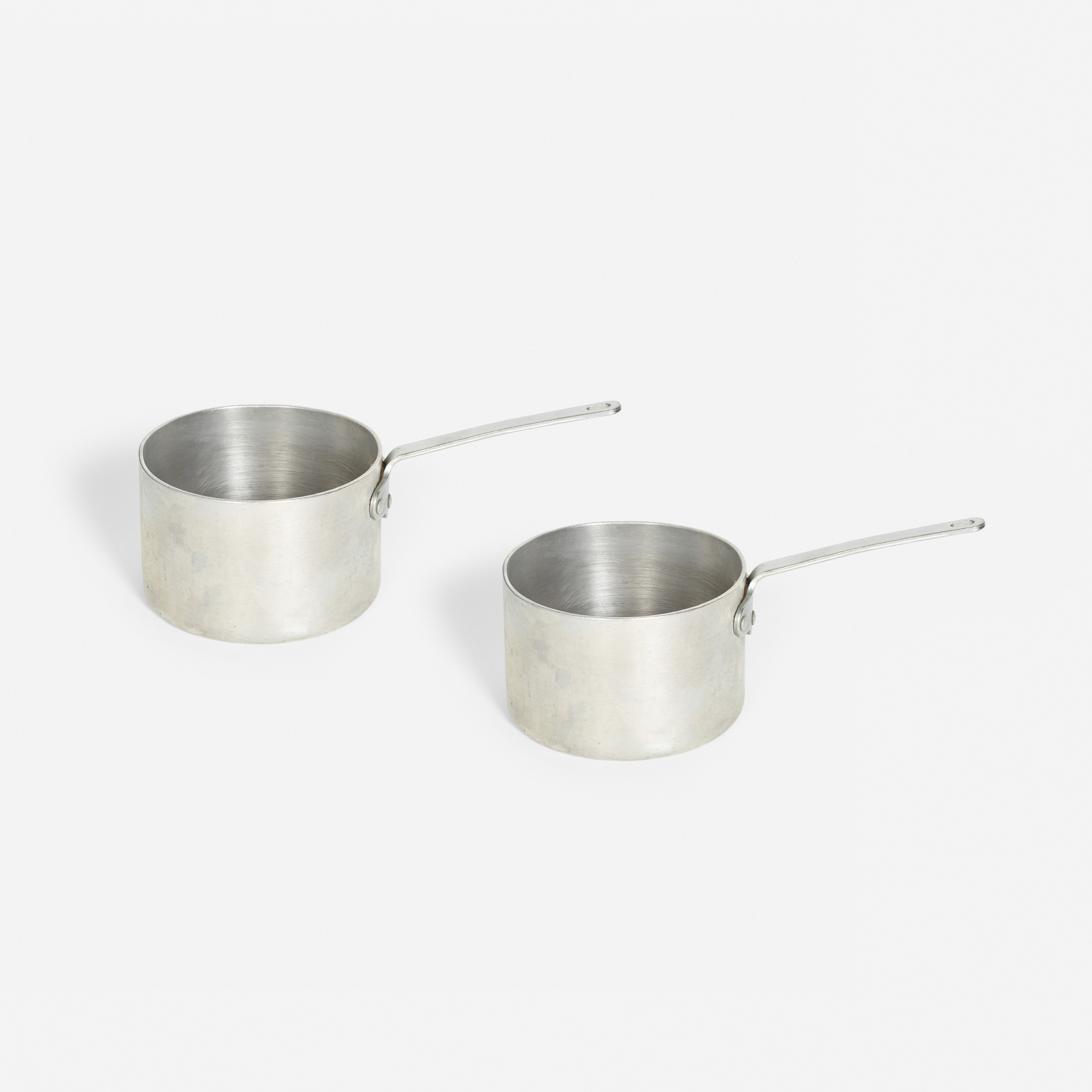 909:  / stock pots from the kitchen of The Four Seasons, pair (1 of 1)