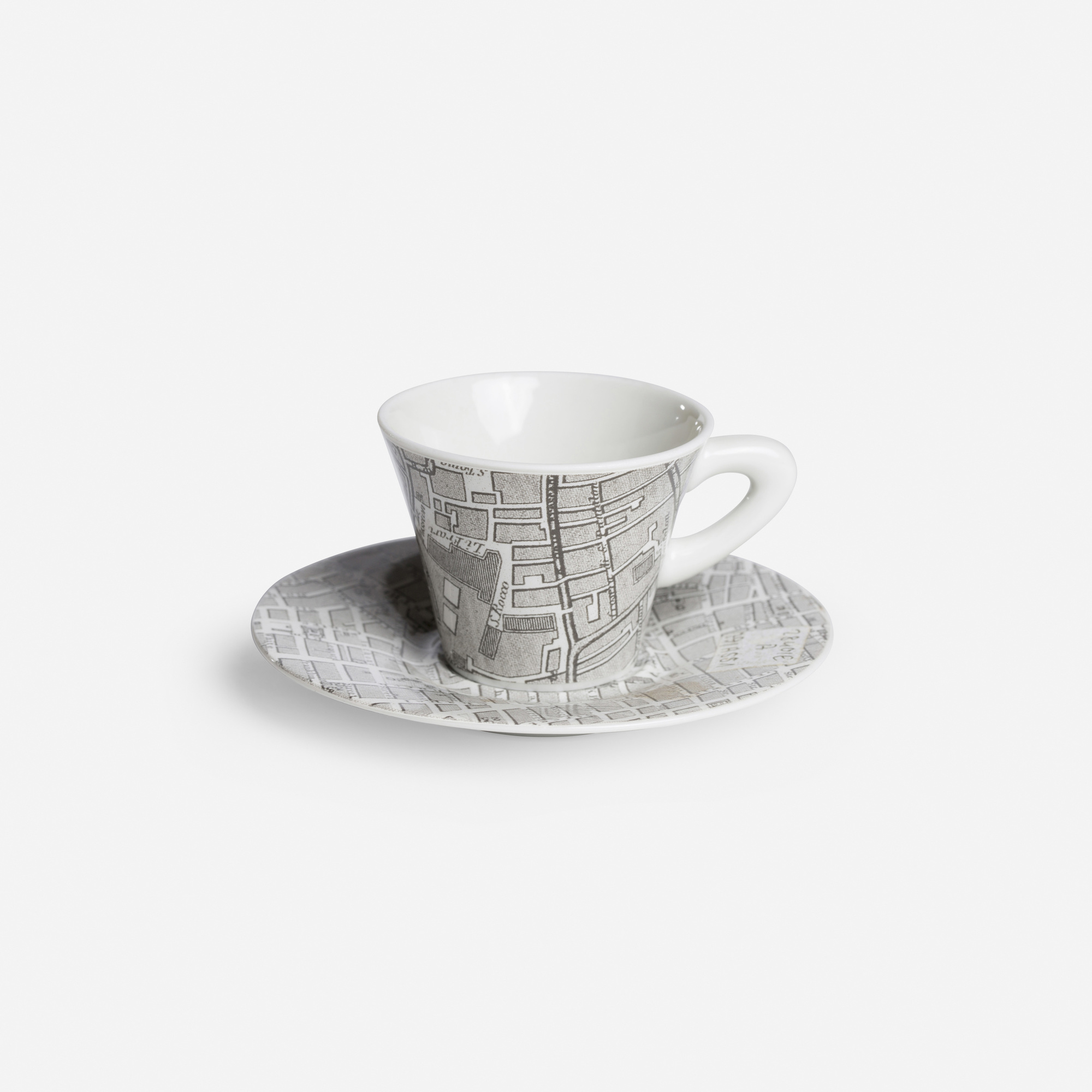 913: Philip Johnson / Prototype Silver Cities demitasse cup and saucer (1 of 1)