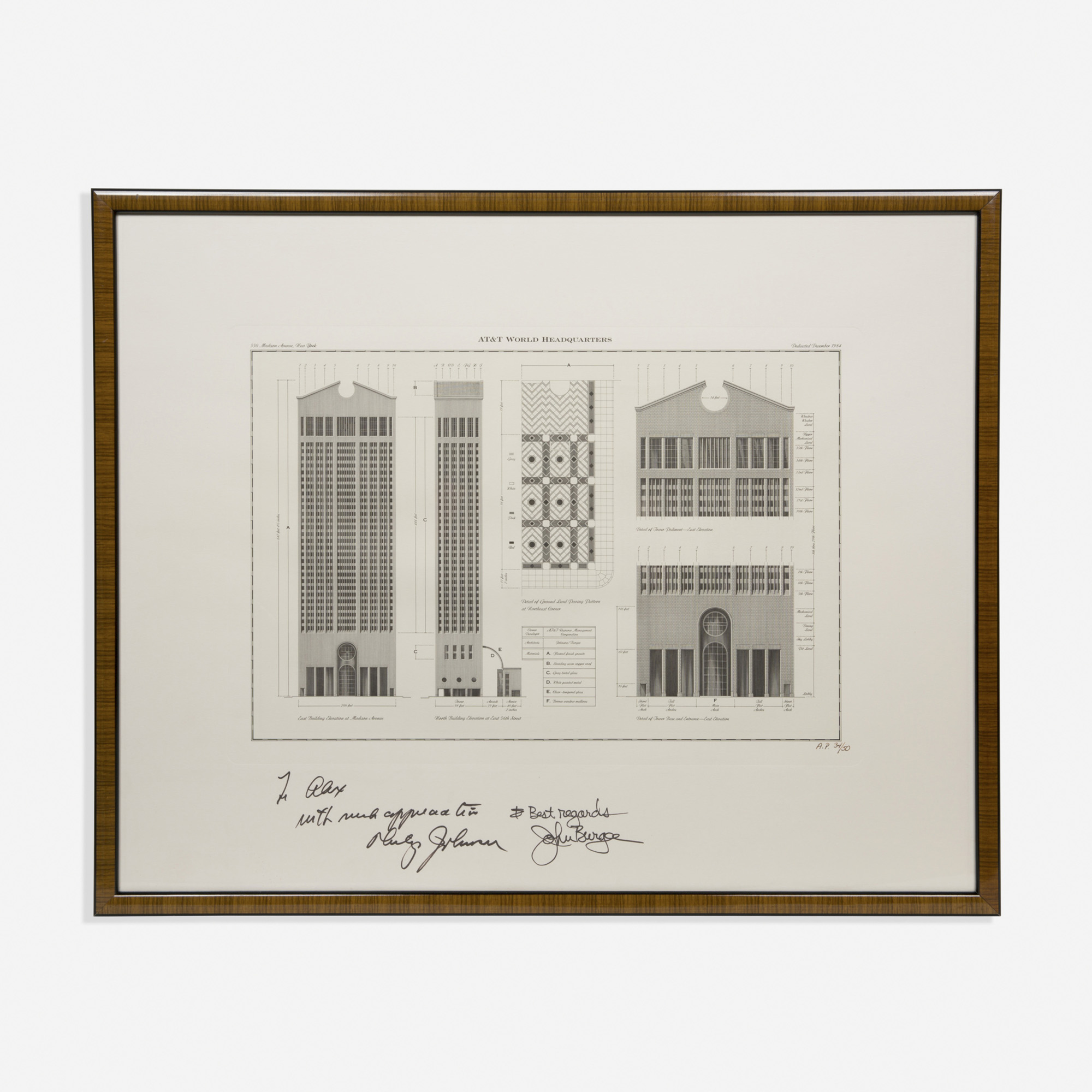 924: Philip Johnson and John Burgee / AT&T World Headquarters (1 of 1)