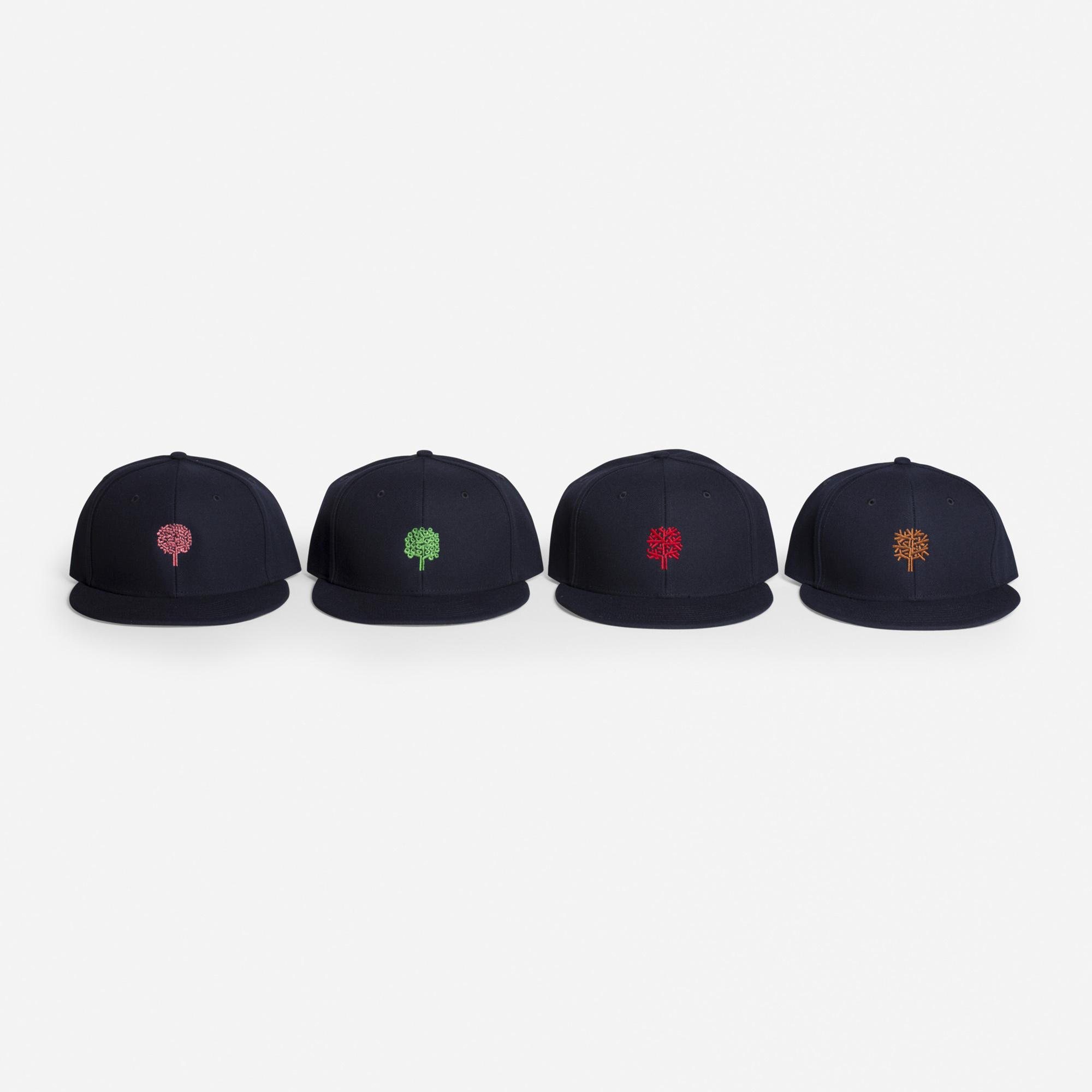 925:  / Four Seasons ball caps, set of four (1 of 1)