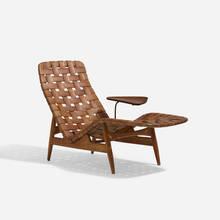 ARNE VODDER Rare Chaise Lounge