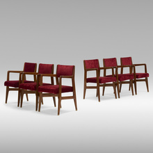 89293e3a82 GIO PONTI, set of six dining chairs from the Augustus ocean liner |  Wright20.