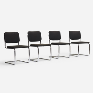 168 Marcel Breuer Dining Chairs Set Of Four Mass Modern Day 1 13 August 2020 Auctions Wright Auctions Of Art And Design