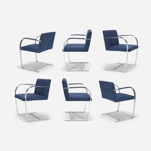 205: LUDWIG MIES VAN DER ROHE, Brno Chairs From The Four Seasons, Set Of  Six U003c The Four Seasons, 26 July 2016 U003c Auctions   Wright: Auctions Of Art  And ...