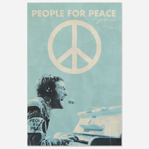 254: John Lennon: People for Peace poster < Rock Style from
