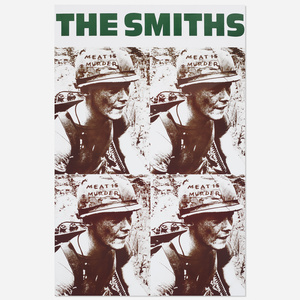 257: The Smiths: Meat is Murder poster < Rock Style from The