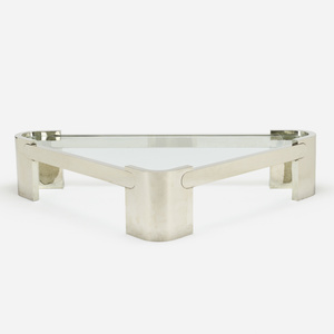 In The Manner Of Karl Springer. Coffee Table