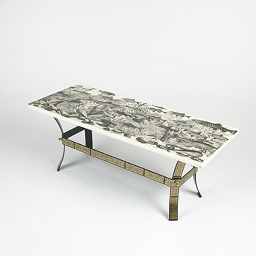 Piero Fornasetti. Fondo Marino Coffee Table