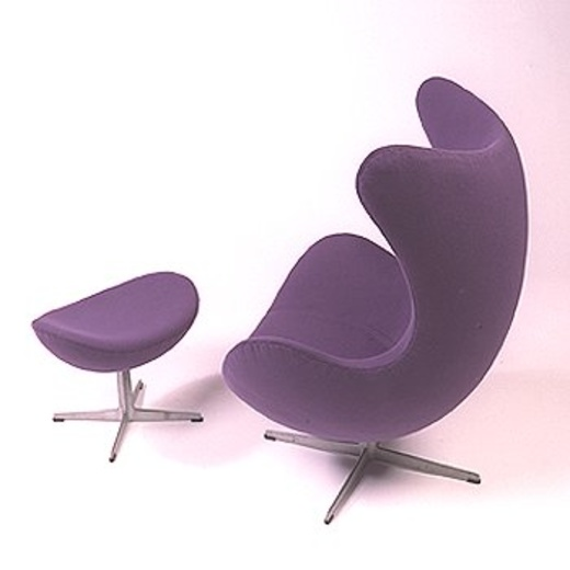 133: ARNE JACOBSEN, Egg Chair And Ottoman U003c Modern Design, 4 June 2000 U003c  Auctions | Wright: Auctions Of Art And Design
