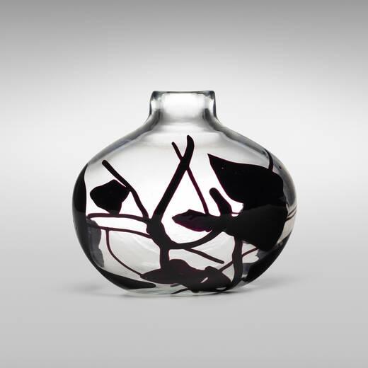 140 Fulvio Bianconi Rare Pezzato Vase Important Italian Glass