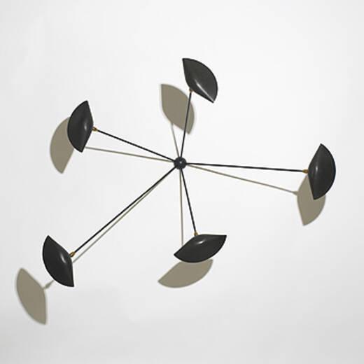 292 serge mouille cachan sconces pair. Black Bedroom Furniture Sets. Home Design Ideas