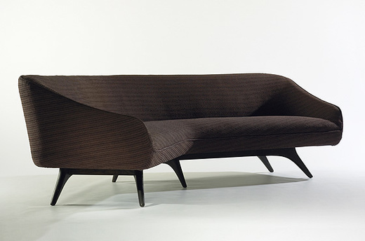 230: VLADIMIR KAGAN, Wide Angle Sofa, Model 506 U003c Modern Design, 7 October  2007 U003c Auctions | Wright: Auctions Of Art And Design