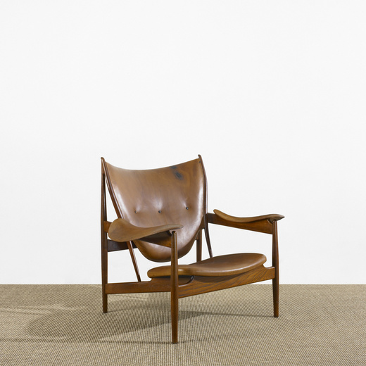 257: FINN JUHL, Early Chieftain Chair U003c Scandinavian Design, 25 May 2010 U003c  Auctions | Wright: Auctions Of Art And Design