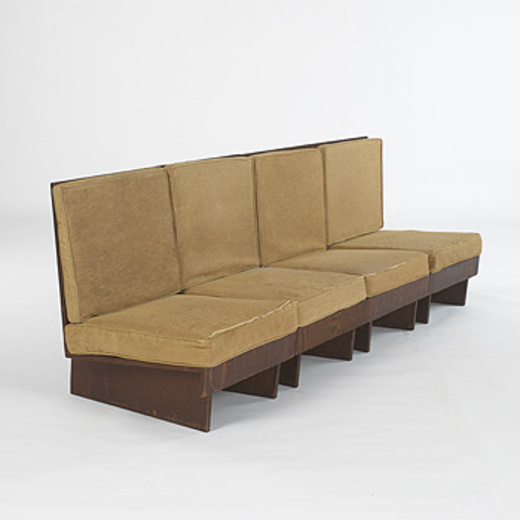 Frank Sectional Sofa Bed: 156: Frank Lloyd Wright / Chair From The Imperial Hotel, Tokyo