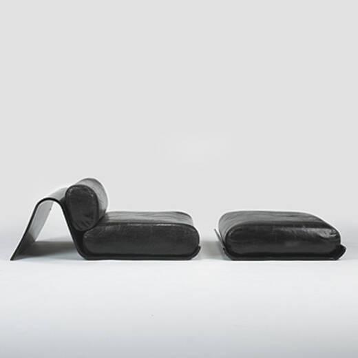 457 Oscar Niemeyer Lounge Chair And Ottoman