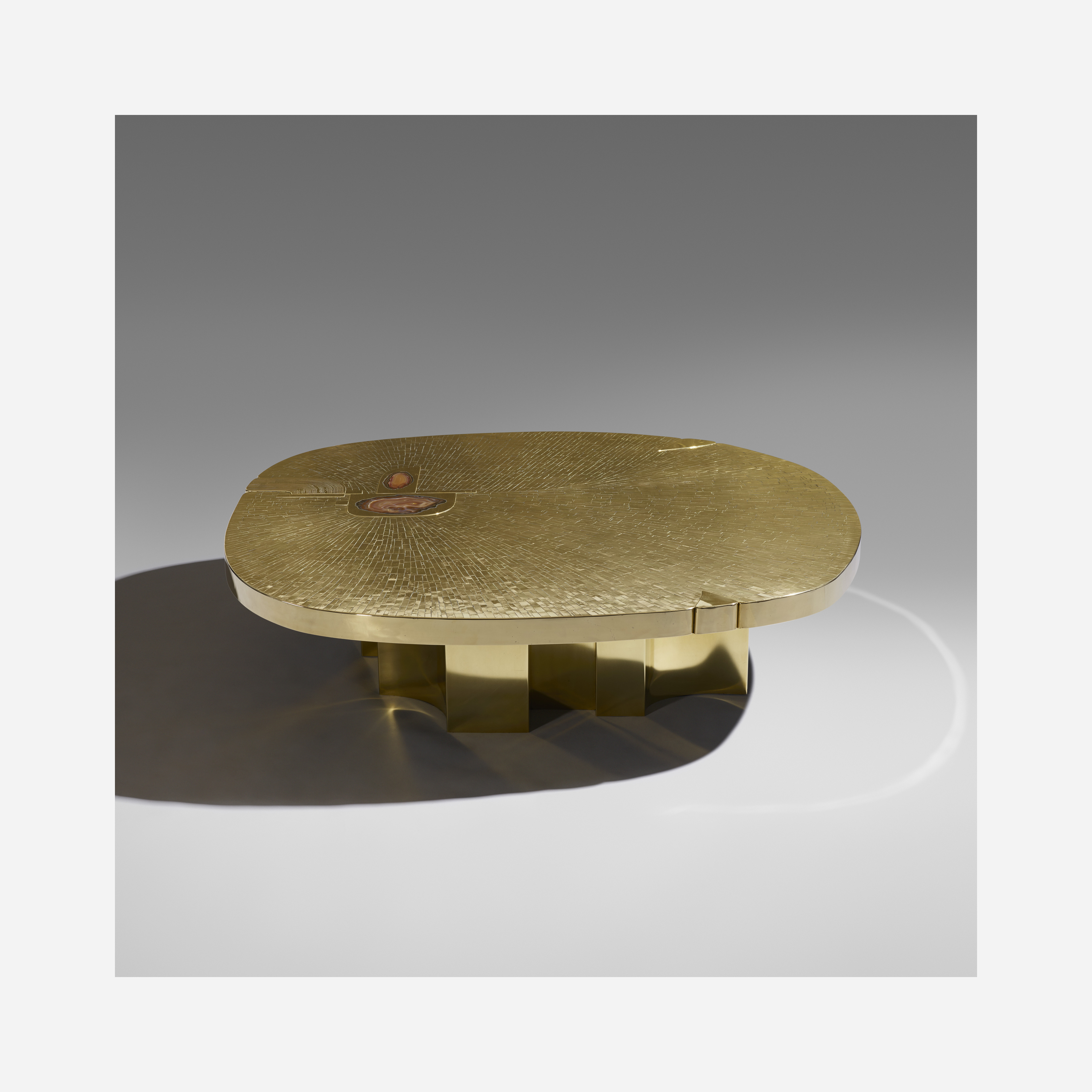 17 Jean Claude Dresse Rare and Important coffee table Design