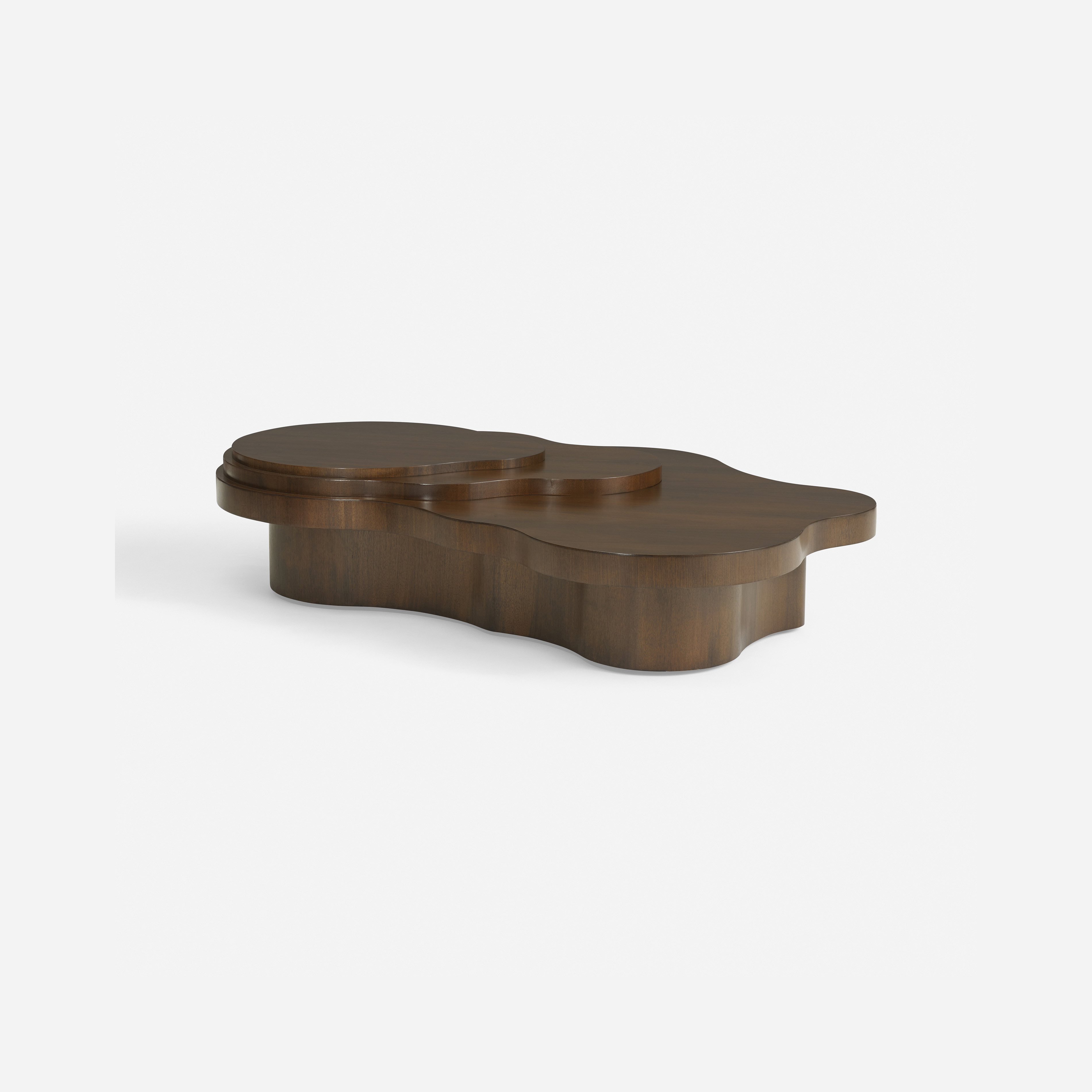 185 T H Robsjohn Gibbings important Mesa coffee table model