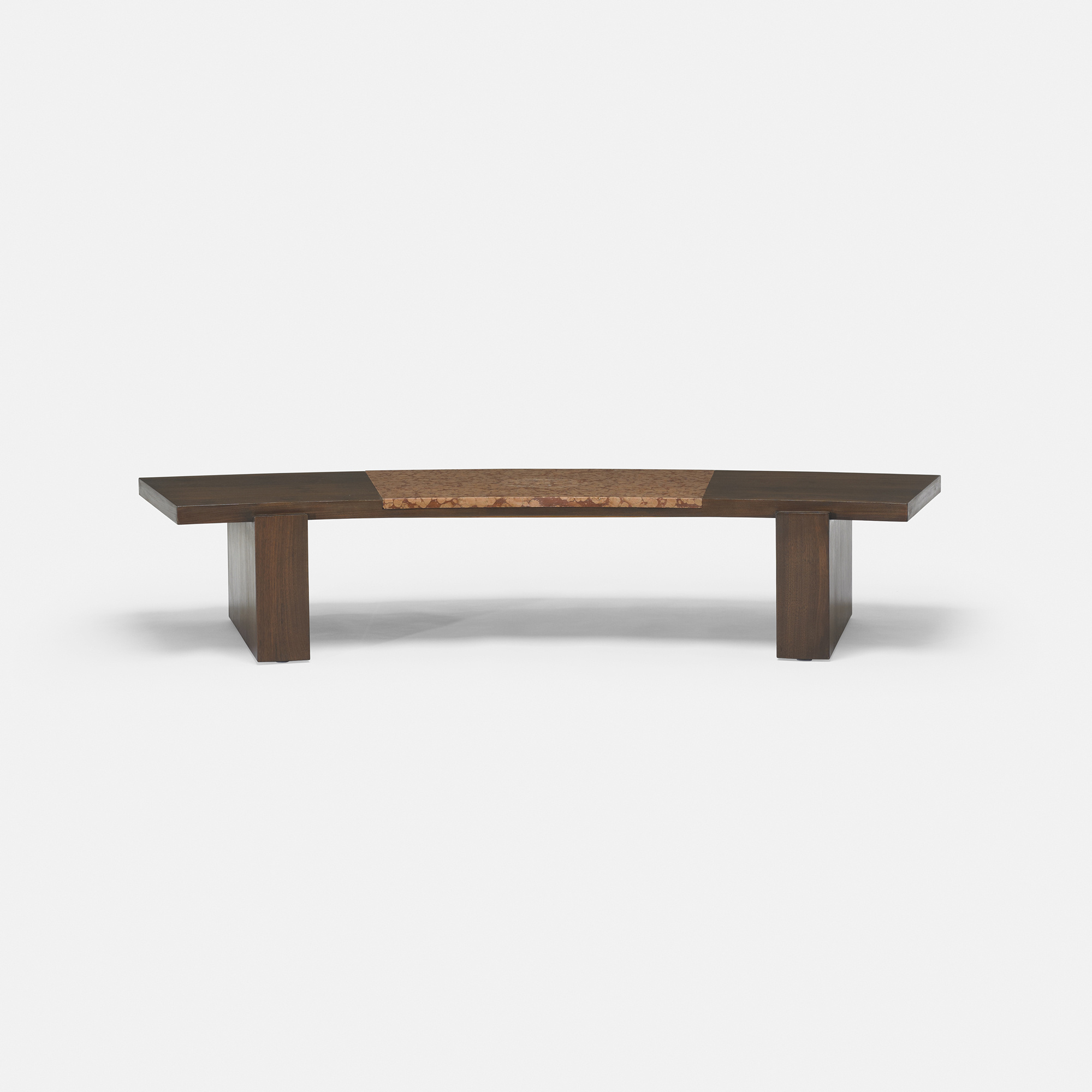 213 Vladimir Kagan coffee table from a Manhattan Interior