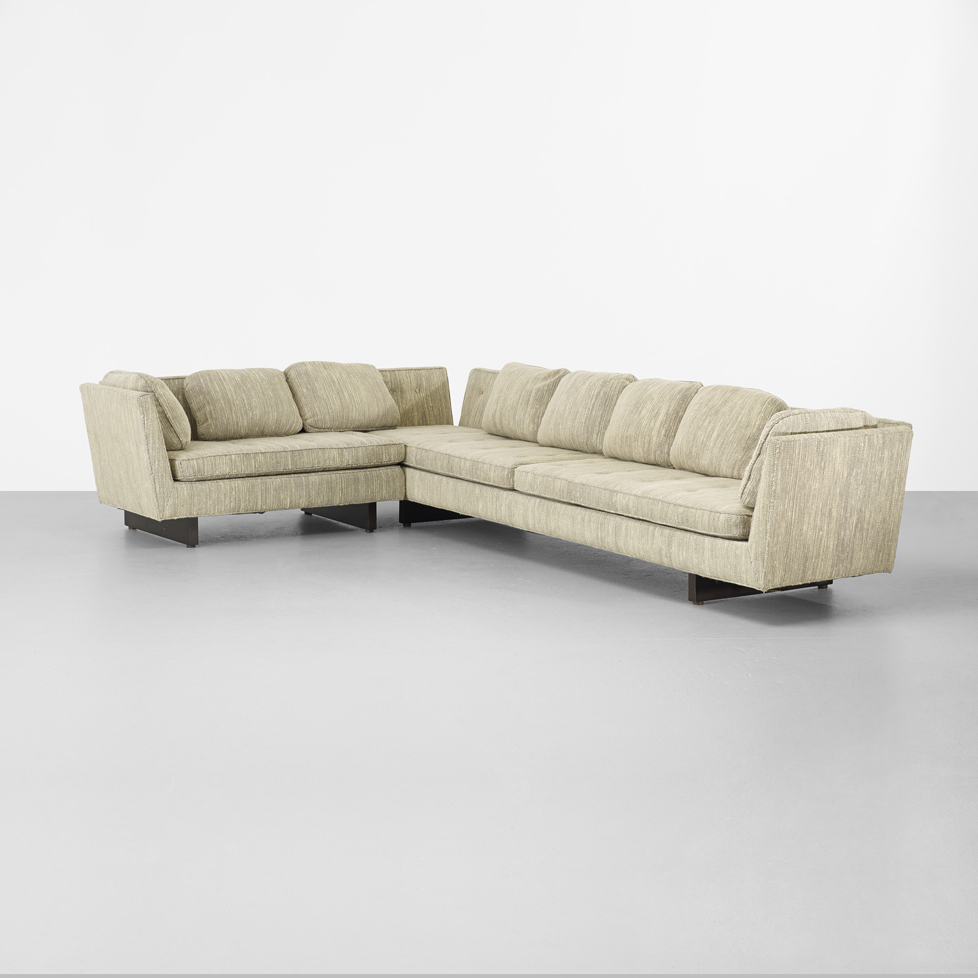 294 Edward Wormley sectional sofa Modern Design 28 March