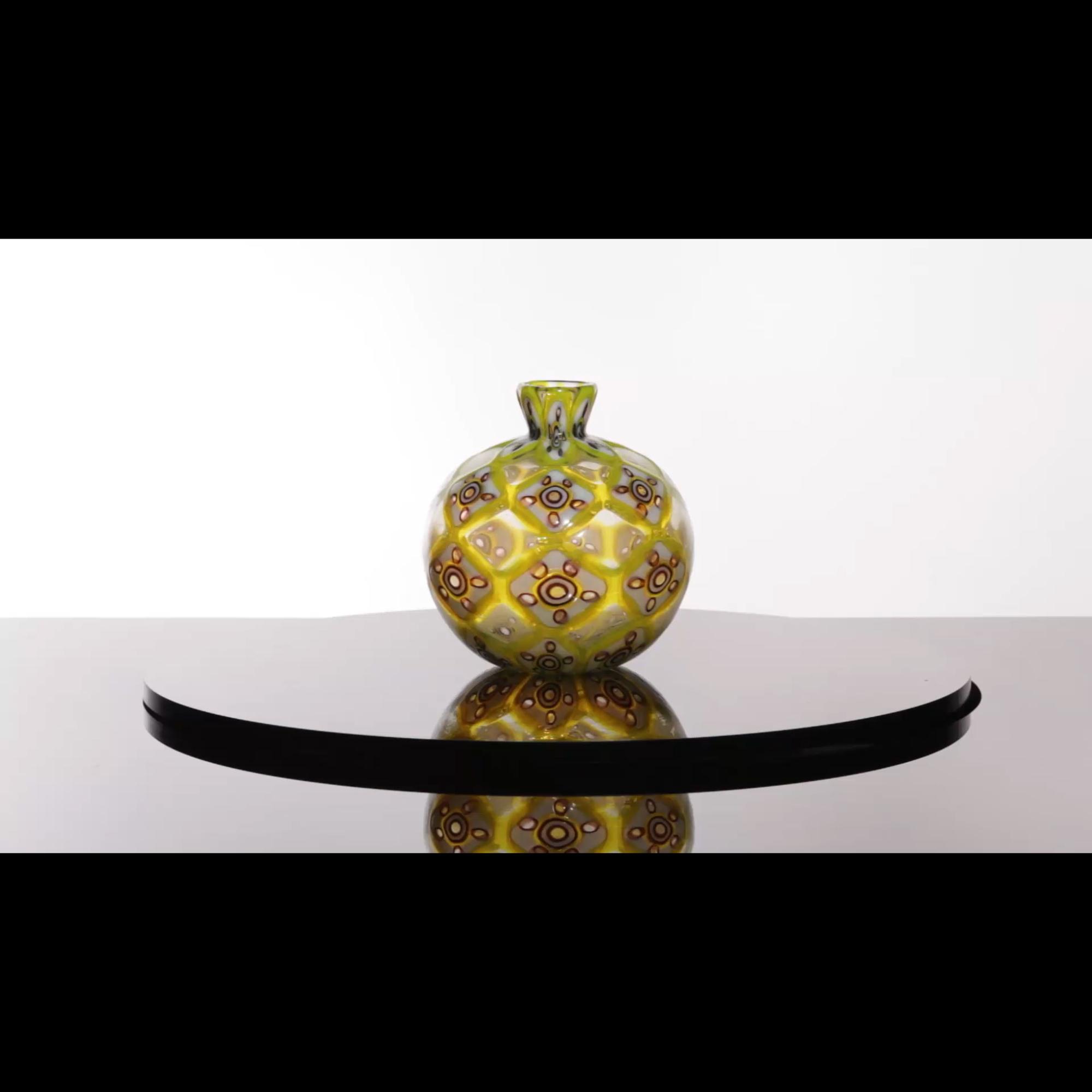 36: Ercole Barovier / Rare Tessere Policrome vase (1 of 4)