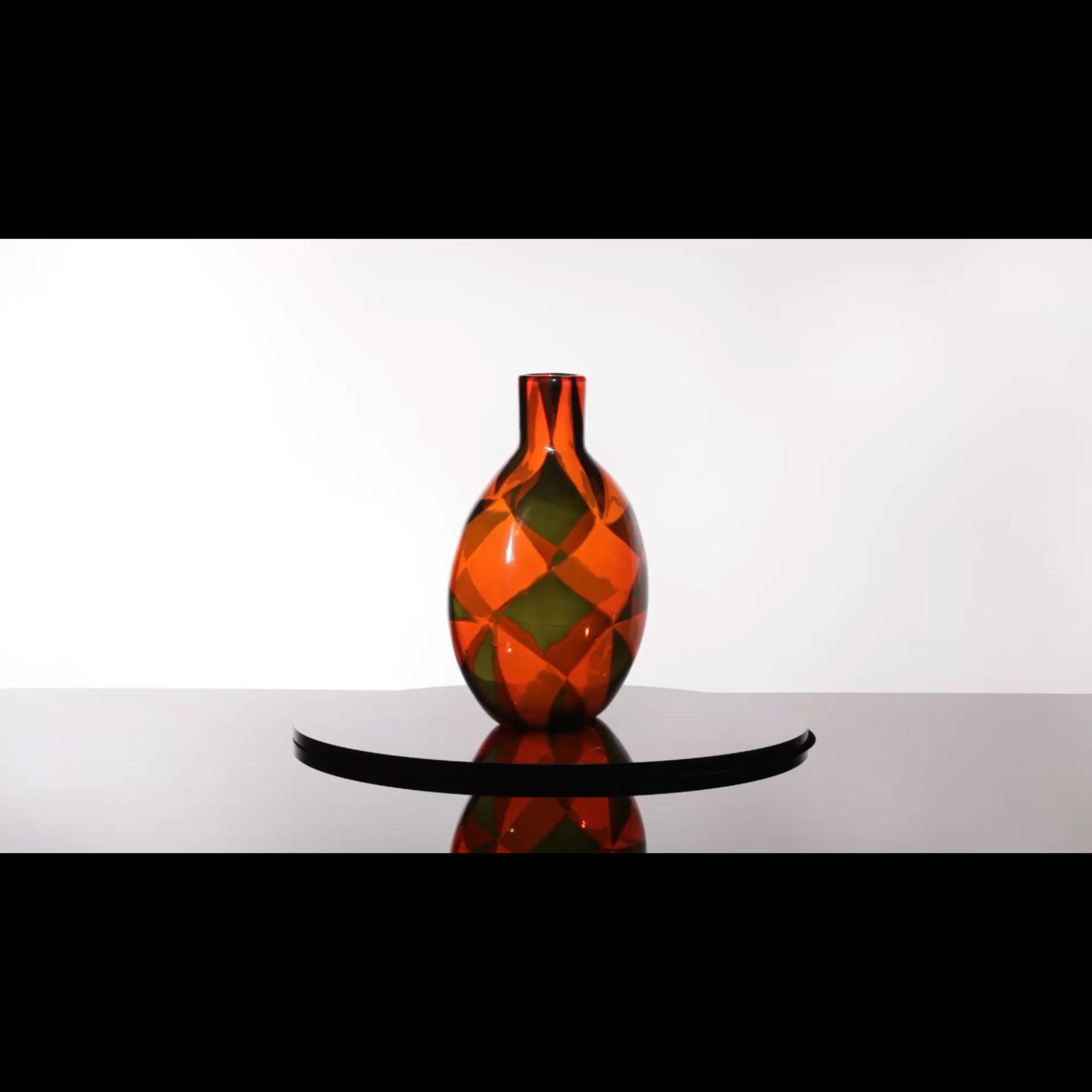 39: Ercole Barovier / Rare Intarsio vase (1 of 4)