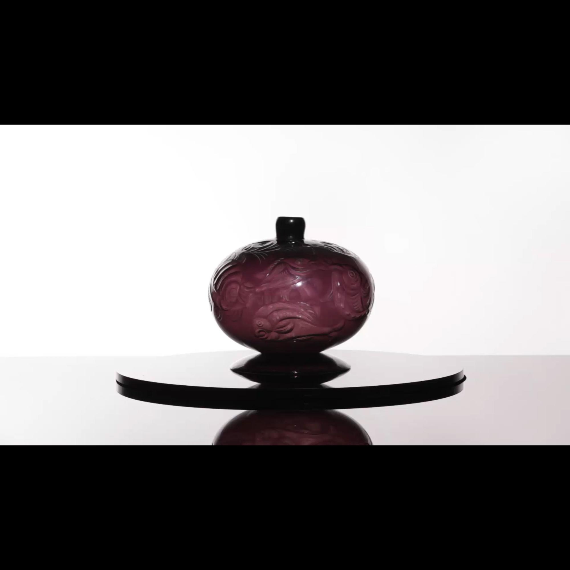 43: Vittorio Zecchin and Franz Pelzel / Unique Pesci vase (1 of 5)