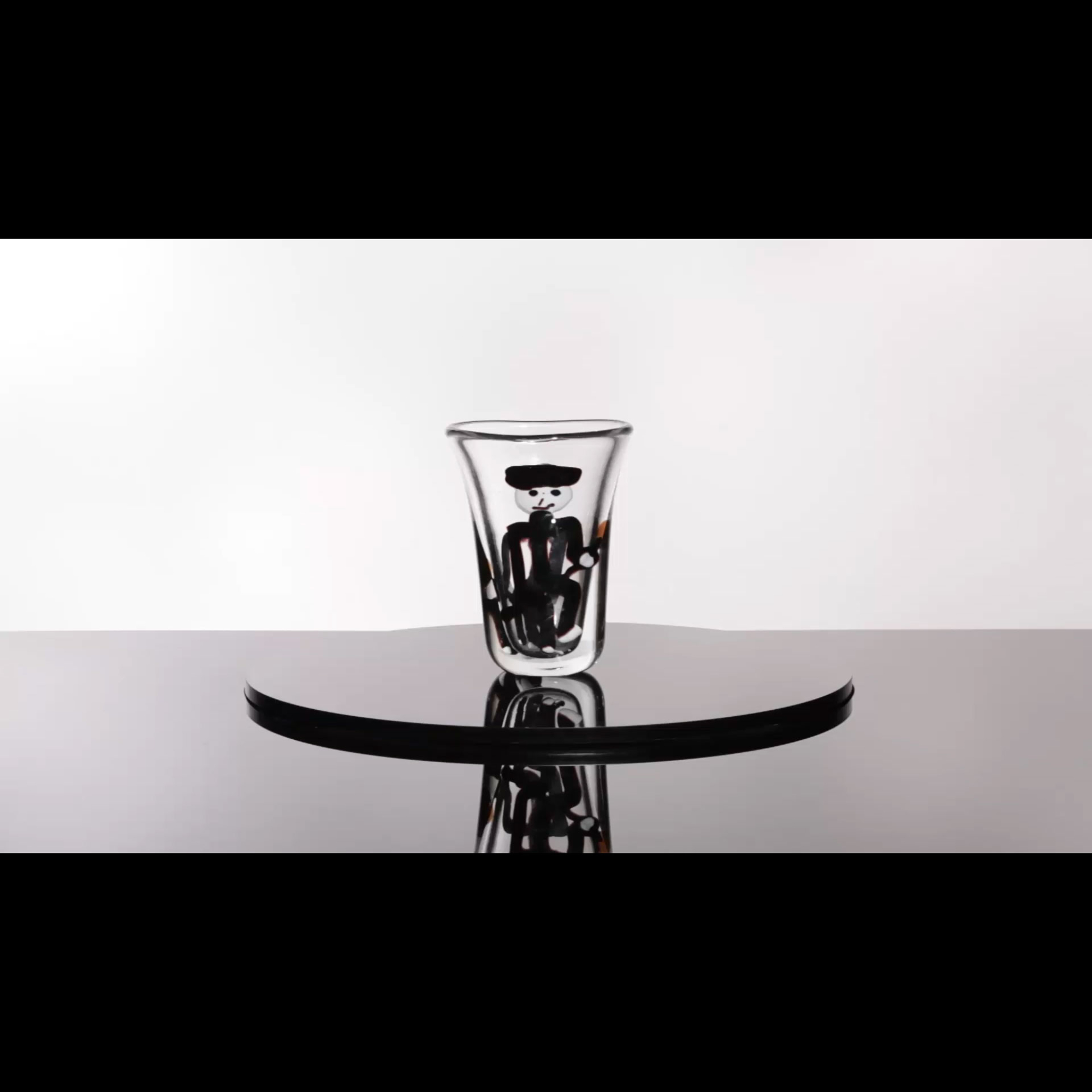 45: Fulvio Bianconi / Important con Macchie vase, model 4427 (1 of 4)